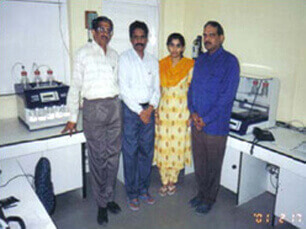 chemical testing laboratory